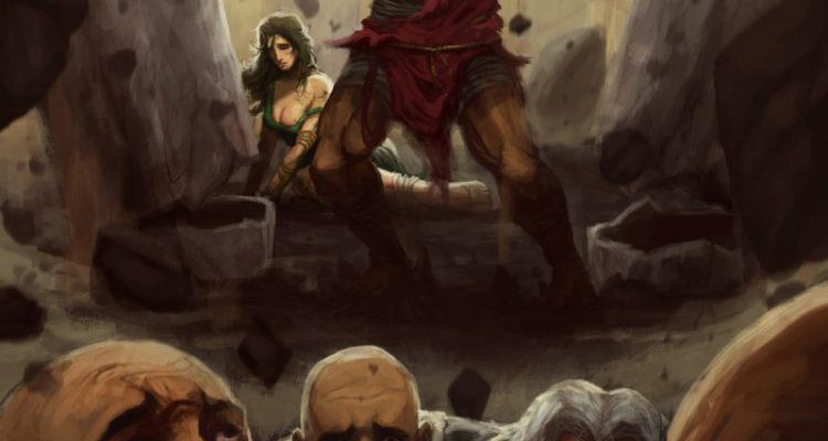 Herbert-Sim-Samson-Revenge-Philistines-Delilah-Art