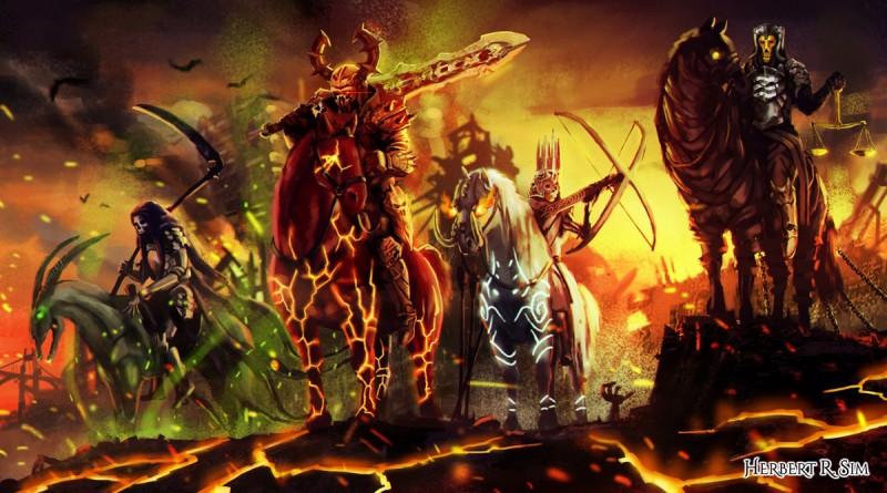 The Four Horsemen of the Apocalypse - Herbert R  Sim